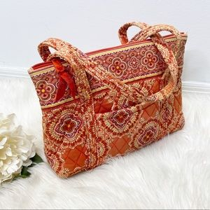 Vera Bradley Orange Shoulder/ Tote Bag